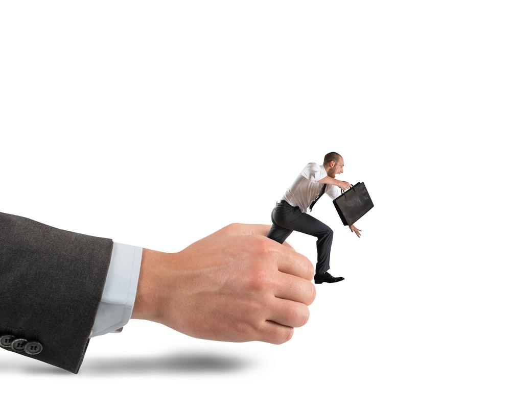 Employee-Running-Away