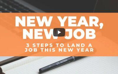 New Year, New Job – Job Search